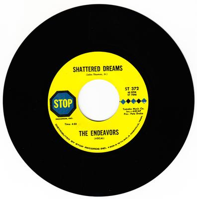 Endeavours - Shattered Dreams / I Know You Don't Want Me - Stop ST 372
