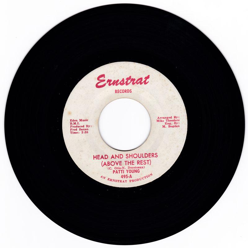 Patti Young - Head And Shoulders (Above The Rest) / The Valiant Kind - Ernstrat