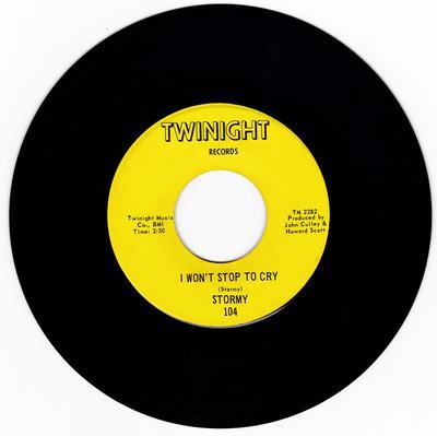 Stormy - I Won't Stop To Cry / Devastator - Twinight