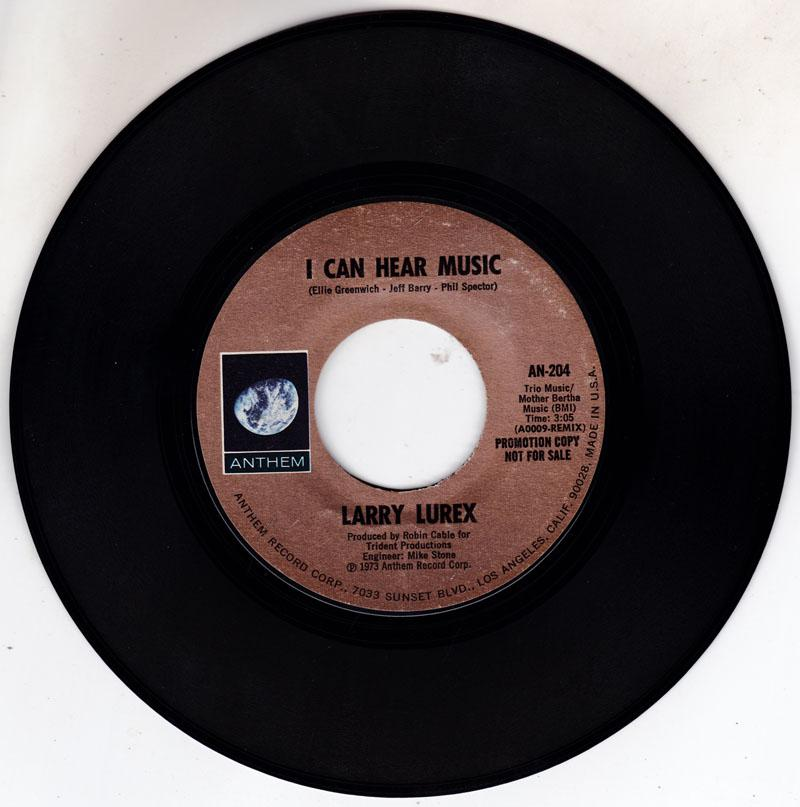 I Can Hear Music/ Same: