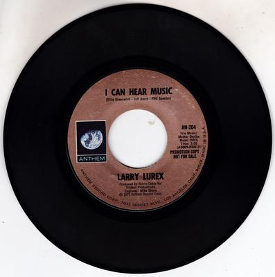 Image for I Can Hear Music/ Same: