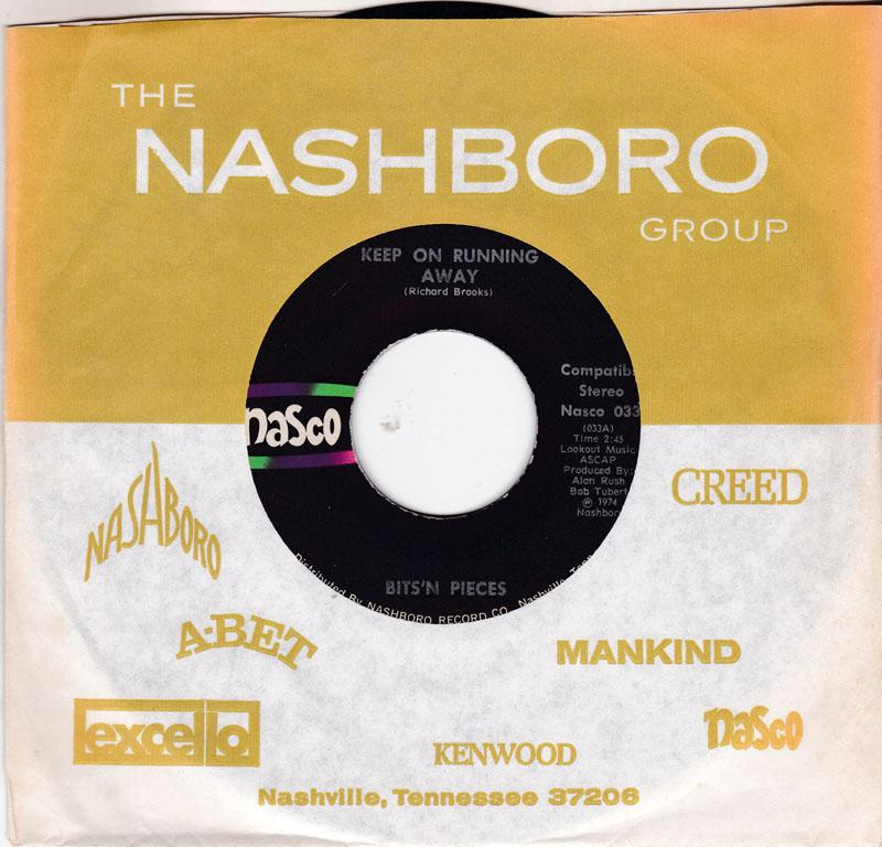 Bits'N Pieces - Keep On Running Away / Sinner ( Have You Been There )  - Nasco 033