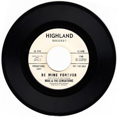 Be Mine Forever/ I Need Your Lovin'