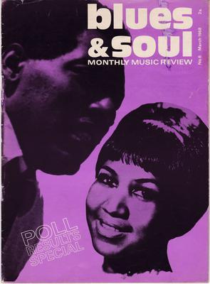 Blues & Soul - # 6 March 1968 / inc: Al Greene, Wilson Pickett, Troy Keyes  - Blues & Soul 6