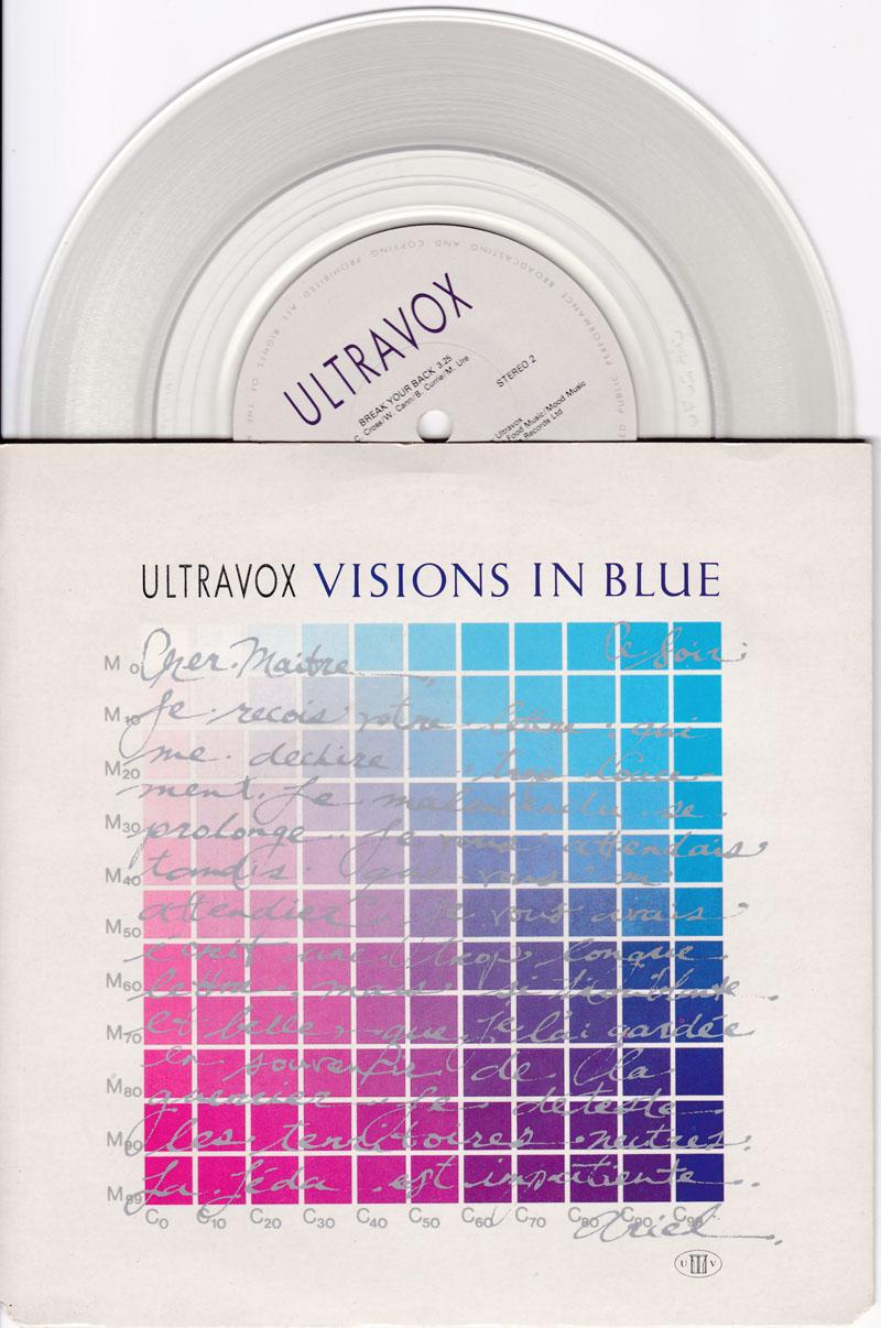 Visions In Blue/ Break Your Back