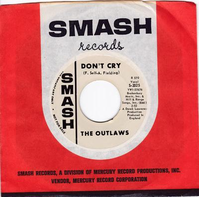 Outlaws - Only For You / Don't Cry - Smash Promo