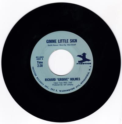 Soul Power/ Gimme Little Sign