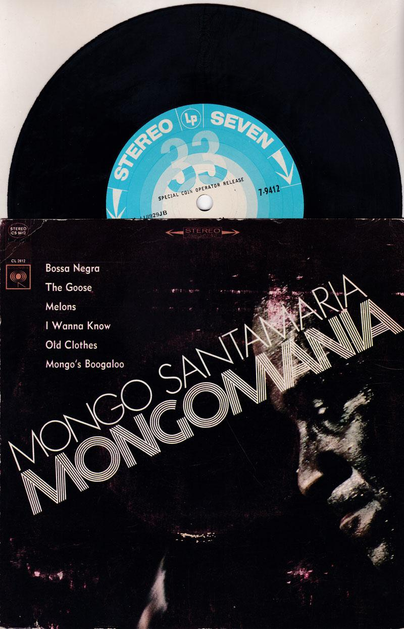 Mongomania - 6 Track Ep/ Goose, Bossa Negra, Melons,+3
