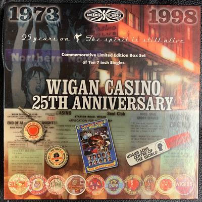 "Various Artists - Wigan Casino 25th. Anniversary / 10 x 7"" singles - Goldmine Soul Supply GS1000X"