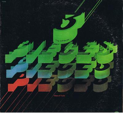 Three Pieces - VIbes Of Truth / 1975 USA press - Fantasy F-9476 DJ