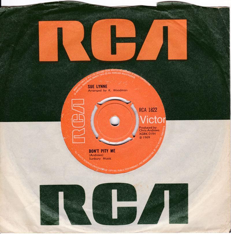 Sue Lynne - Don't Pity Me / You - RCA 1822