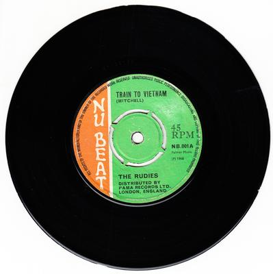 Rudies - Train To Vietnam c/w Skaville To Rainbow City - Nu Beat NB 001