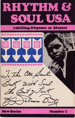 Rhythm & Soul USA - RHYTHM & SOUL USA # 1 / 1966 UK fanzine - F.O.A.R.B.S