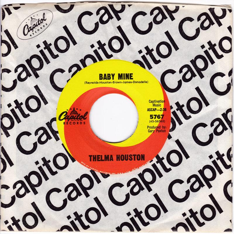 Thelma Houston - Baby Mine / The Woman Behind Her Man - Capitol 5767