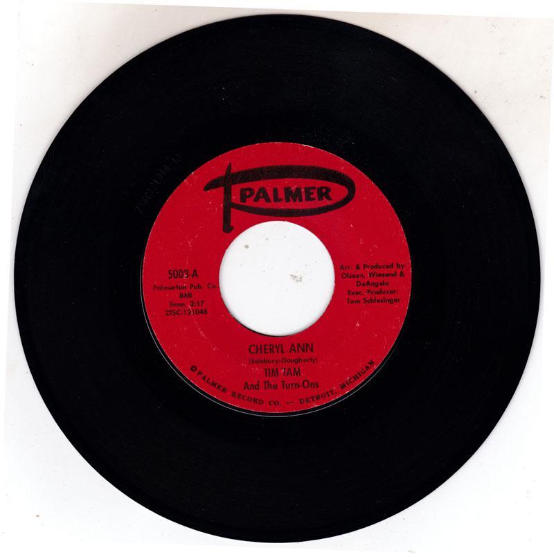 Cheryl Ann/ Seal It With A Kiss