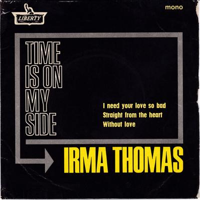 Irma Thomas - Time Is On My Side - UK Liberty EP PS