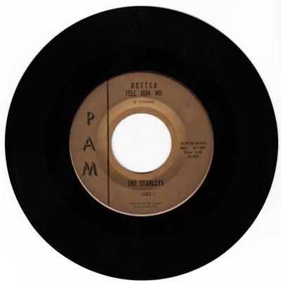 Better Tell Him No/ You Are The One