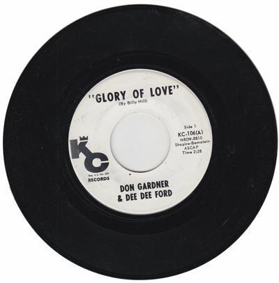 Glory Of Love/ Deed I Do