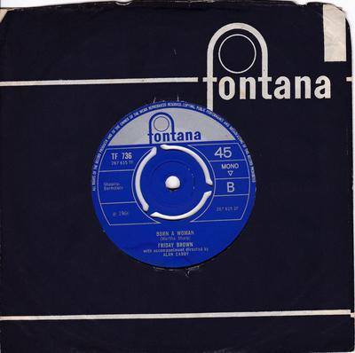 Friday Brown - 32nd Love Affair - Fontana TF 736