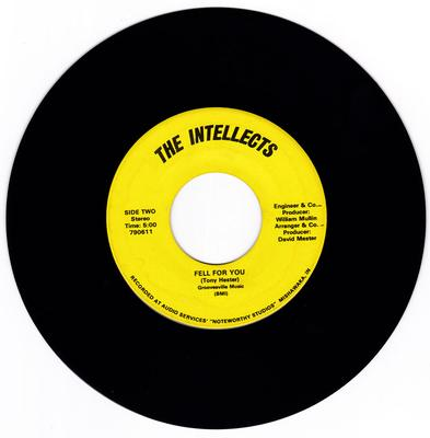 Intellects - Fell For You / Heaven Must Be Missing An Angel - Audio Services 790611