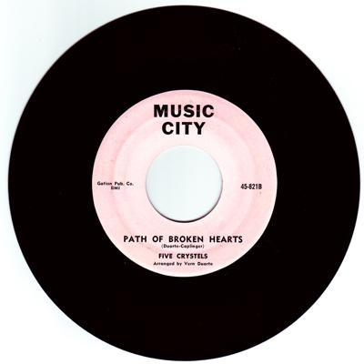 Image for Path Of Broken Hearts/ Heaven's Own Chior