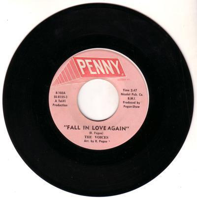 Fall In Love Again/ Same: Instrumental