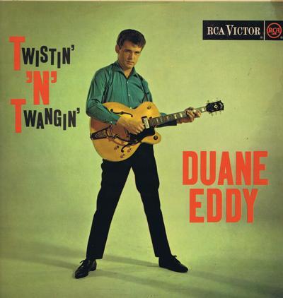 Twistin' N' Twangin'/ Original 1962 Uk Press
