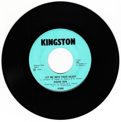 Rising Run - Let Me Into Your Heart / You're Never Too Old To Learn - Kingston 41006