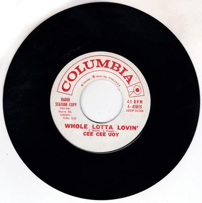 Image for Whole Lotta Lovin'/ I'm Coming Down With The Blues