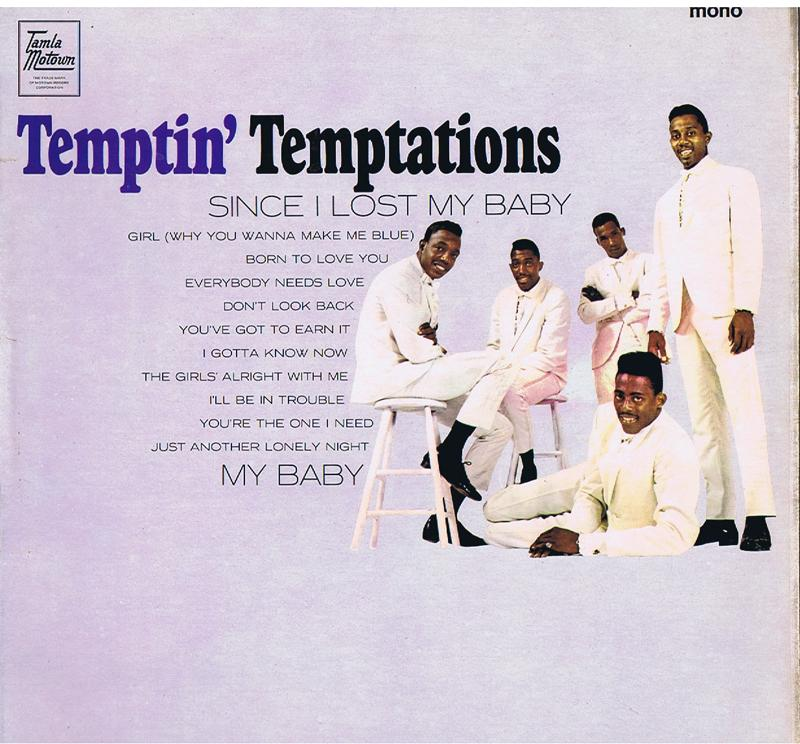 Temptations - The Tempton' Temptations / 1965 UK mono press - Tamla Motown TML 11023
