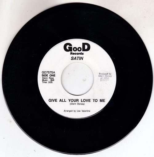 Give All Your Love To Me/ Same: