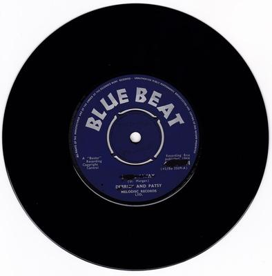 Derrick and Patsy - Steal Away / Money - Blue Beat bb 224