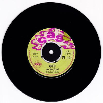 Baba Dise / Sensations - Wanted / I'll Always Love You - Gas 118