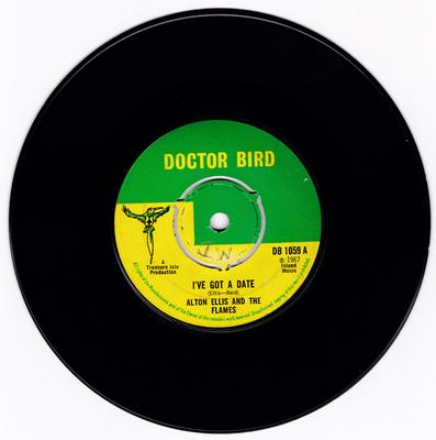 Alton Ellis & The Flames - I've Got a Date / The Yellow Basket - Doctor Bird DB 1059