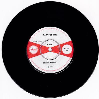 Derrick Harriott - Mama Didn't Lie / Together - Island WI-2445