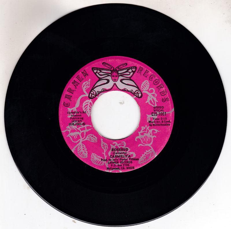 Carmelita - Rosbud / Isn't It Lonely - Carmen CJS 1001