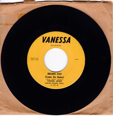 Young Jessie - Brown Eyes (Come On Home) / Make Me Feel A Little Good - Vanessa 101