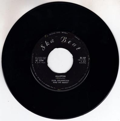 Don Drummond / Justin Hinds & the Dominoes - Allepon / Mother Banner - Ska Beat JB 187