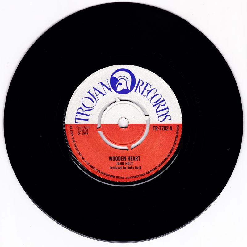 John Holt - Wooden Heart / All My Life - Trojan TR 7702