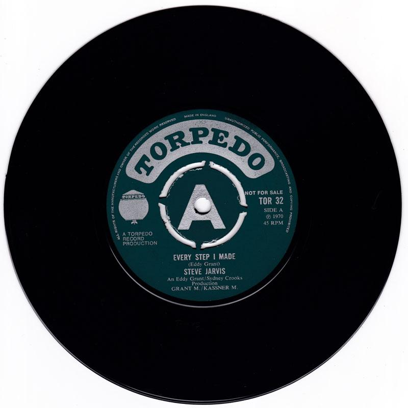 Steve Jarvis - Every Step I Made / One Eyed Giant - Torpedo TOR 32