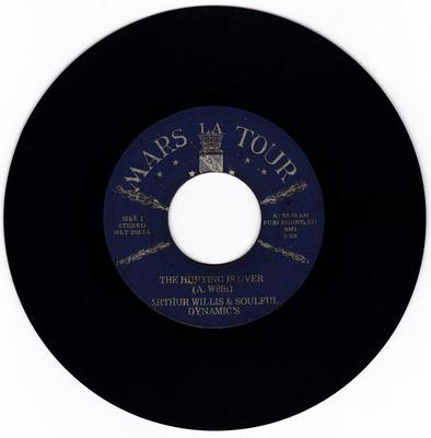 Arthur Willis & Soulful Dynamics - The Hurting Is Over / I've Got To Find A Way - Mars La Tour  MLT 205