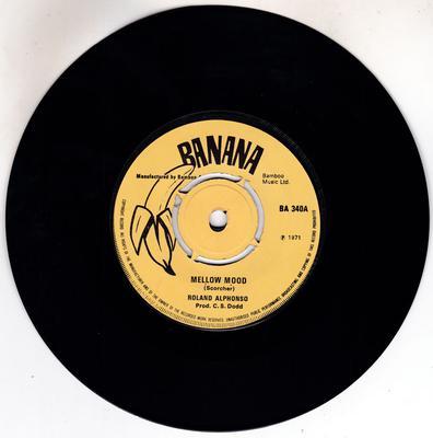Roland Alphonso / Maytals  - Mellow Mood / Marchin' On - Banana BA 340