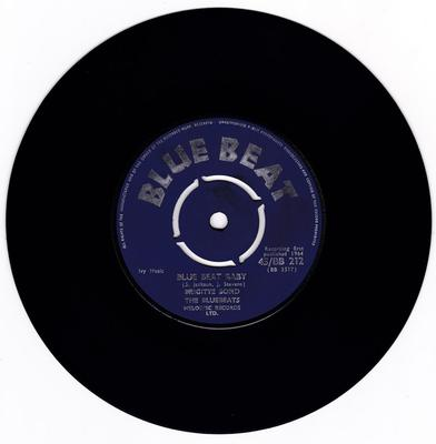 Brigitte Bond & The Blue Beats  - Blue Beat Baby / oh Yeah Baby - Blue Beat 45/BB 212