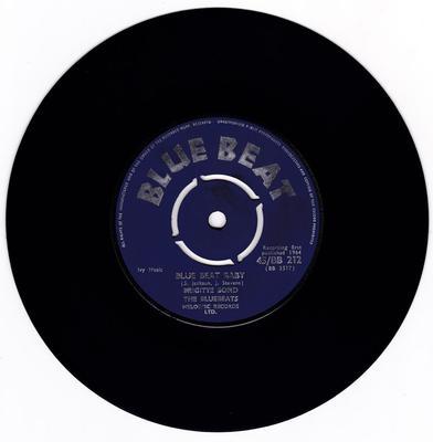 Brigitte Bond & The Blue Beats  - Blue Beat Baby / oh Yeah Baby - Blue Beat 45/BB 212