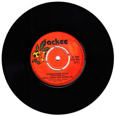 Bingy Bunny and Bongo Les c/w Rupie Edwards - International Scout / version - Ackee ACK 506