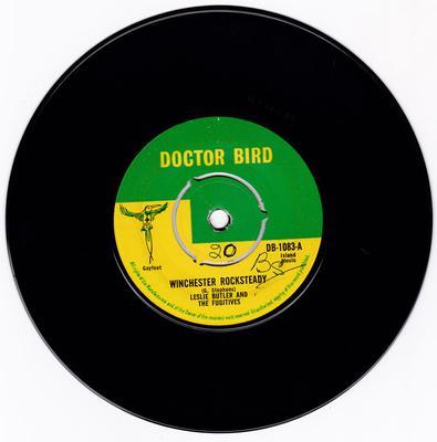 Leslie Butler & The Fugitives - Winchester Rocksteady / Ramona - Doctor Bird DB-1083