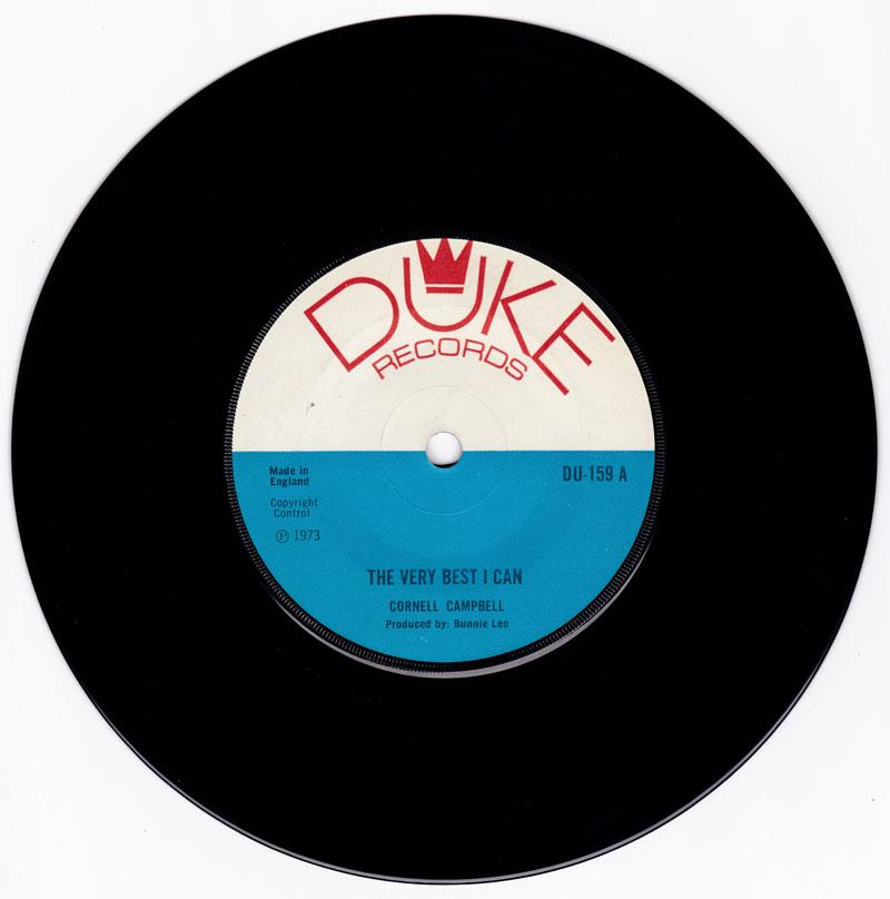 Cornell Campbell - The Very Best I Can / Heading For The Mountains - Duke DU 159