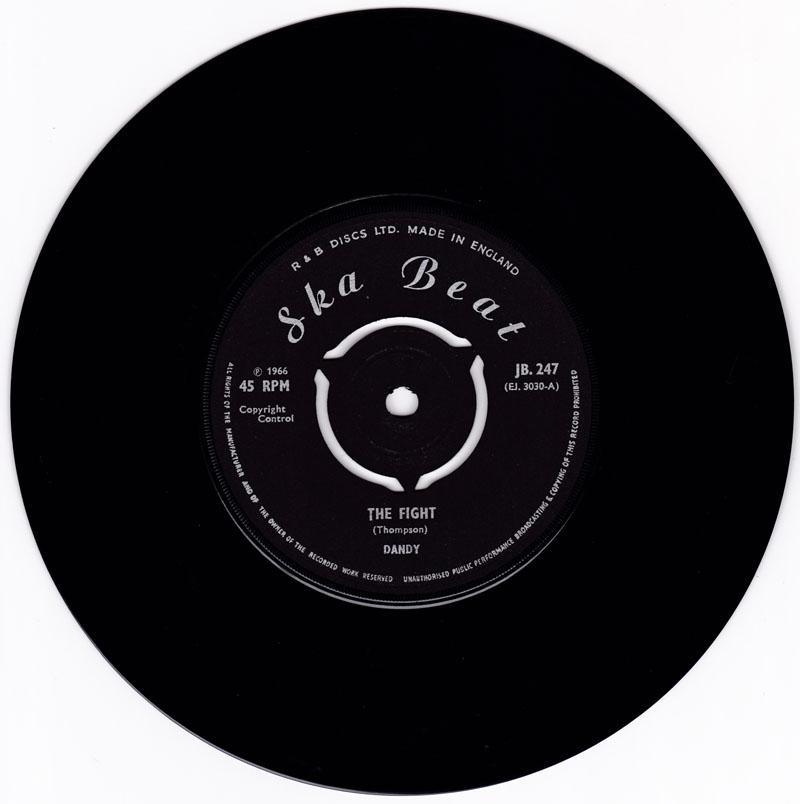 Dandy - The Fight / Do You Know - Ska Beat JB 247