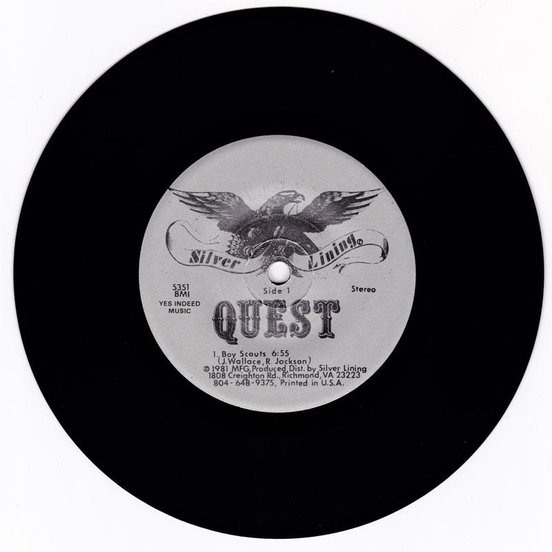 Quest - Boy Scouts / same: 6:55 version - Silver Lining 5351
