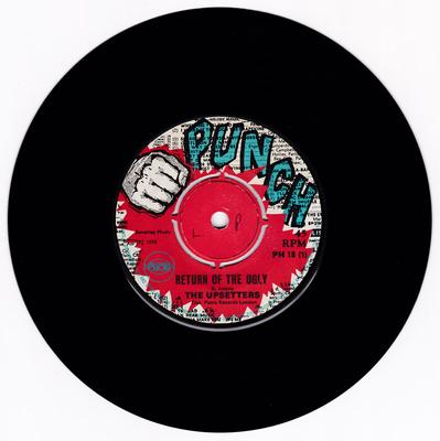 Upsetters - Return Of The Ugly / I've Caught You - Punch PH 18